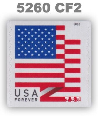 5260 (CF2) Postal Counterfeit US Forever Flag Design Single 2018 MNH - Buy Now
