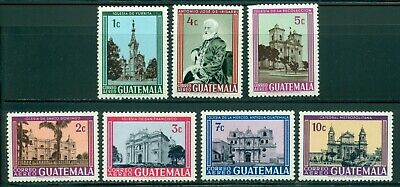 Guatemala Scott #C364-C370 MNH Churches RELIGION CV$3+