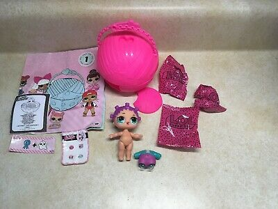 LOL SURPRISE DOLL SERIES 1 #1-020 ROLLER SK8TER New Opened Straight To Bag