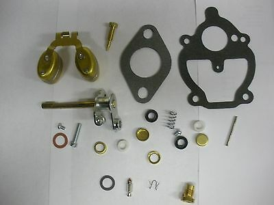 ZENITH CARBURETOR KIT & FLOAT IH FARMALL A A1 AV B BN C Super A C 100 130 140