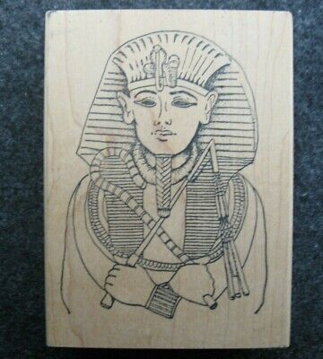 KING TUT EGYPTIAN PHARAOH by Just For Fun Rubber Stamp Stampinsisters #2020