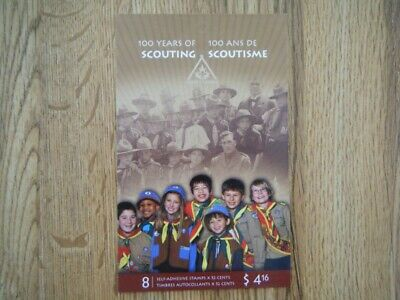 Canada#2225a BK#357 MNH Booklet '100 Years of Scouting' Lot#H7