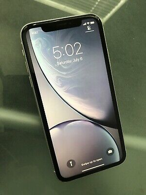 Apple iPhone XR - 64GB - (AT&T) - Works Great - 100% Bat Health - (#929)