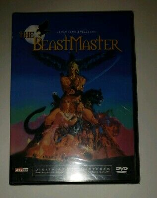 THE BEASTMASTER Brand NEW Rare OOP Super Hard To Find Sealed DVD Unopened