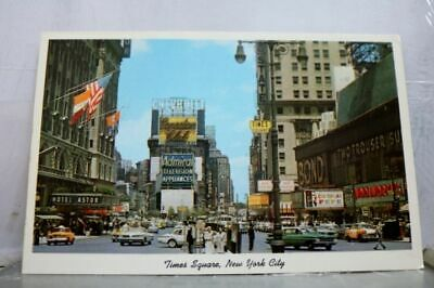 New York NY NYC Times Square Postcard Old Vintage Card View Standard Souvenir PC