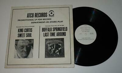 Buffalo Springfield ATCO White Label Promo In-Store Play Last Time Around LP