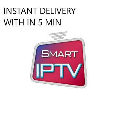 IPTV Subscription 12 months Fast Dispatch within 5 min