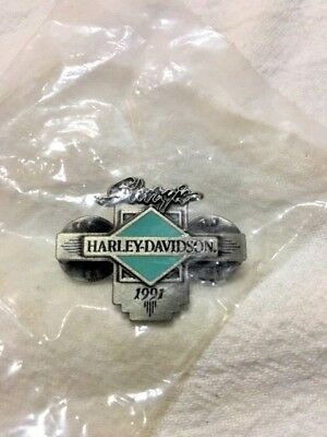 Harley Davidson 1991 Sturgis Pin - New in Package