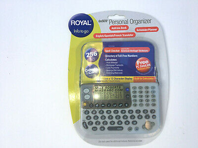 Royal Dm 5070 Personal Organizer New In The Box