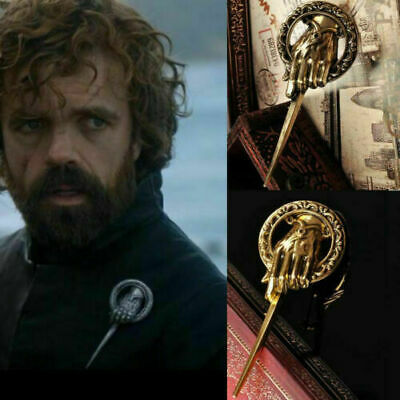 For Game of thrones hand of the king Lapel Replica Vintage costume pin broochCYN