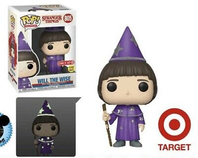 Mint Funko Pop! Will The Wise Target Exclusive GITD Stranger Things 3 Preorder