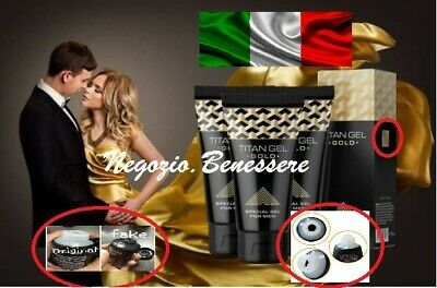 TITAN GEL GOLD  PREZZO ESTATE 2019 ingrandire il pene NUOVO, ORIGINALE * ITALIA
