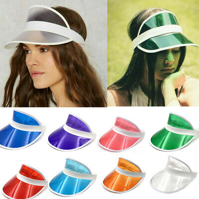 US Anti UV Women Men Visor Adjustable Cap Sport Sun Summer Outdoor Sunscreen Hat