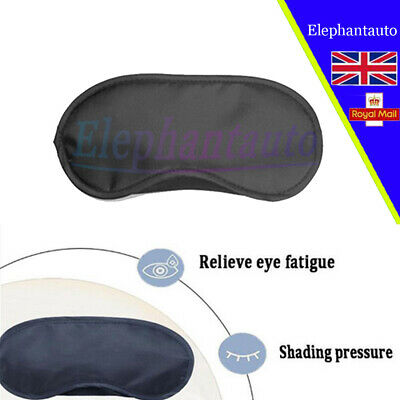 1PCS Sleep Eye Masks Travel Blindfold Shade Blinder Soft Elasticated Rest Aid