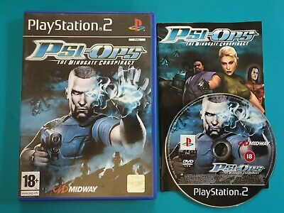 PS2 : Psi-Ops - The Mindgate Conspiracy