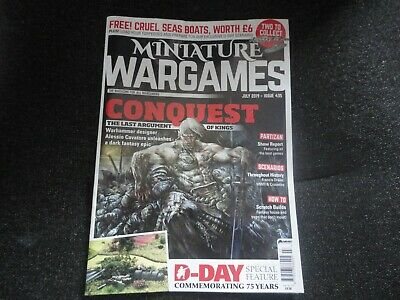 MINIATURE WARGAMES MAGAZINE JULY 2019 D-DAY COMMAND DECISION
