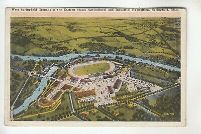 Aerial View Grounds of the Eastern States Exposition Springfield  MA