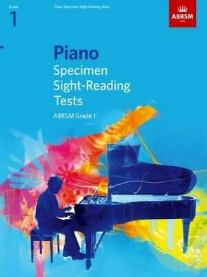 Piano Specimen Sight-Reading Tests, Grade 1 9781860969058 | Brand New