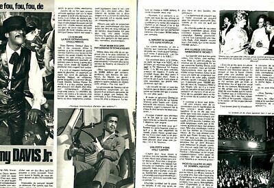 Coupure de presse Clipping 1974 Sammy Davis Jr (2 pages)