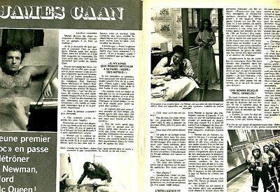 Coupure de presse Clipping 1974 James Caan (2 pages)