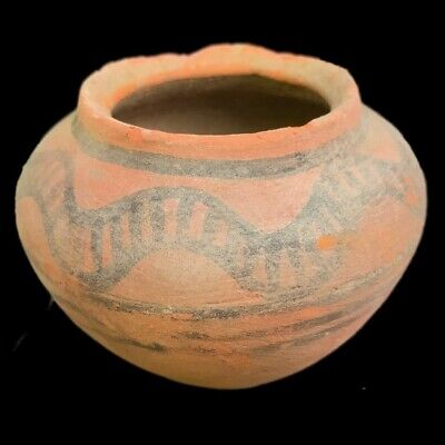 Roman Indus Valley Polychrome Storage Vessel, Rare Ancient Artifact (3)