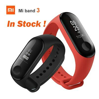Original Xiaomi Mi Band 3 Smart Wristband Bracelet Watch OLED 50m Waterproof