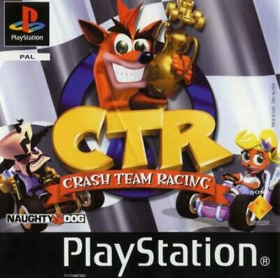 CTR Crash Team Racing - Playstation PS1
