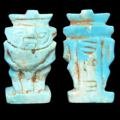 Beautiful Ancient Egyptian Bes Amulet 300 Bc (13)