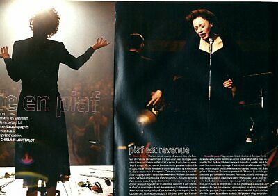 Coupure de presse Clipping 2006 Marion Cotillard  (6 pages)