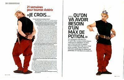 Coupure de presse Clipping 2006 Clovis Cornillac  (8 pages)