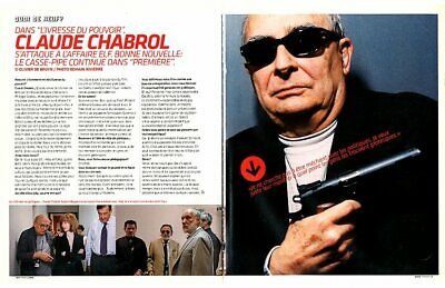 Coupure de presse Clipping 2006 Claude Chabrol  (3 pages)