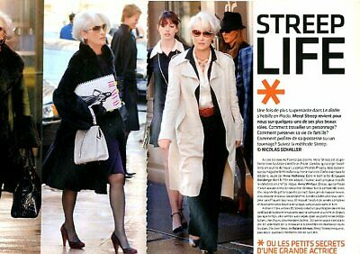 Coupure de presse Clipping 2006 Meryl Streep  (6 pages)