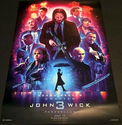 "John Wick: Chapter 3 - Parabellum Poster 13"" X 19""  Number 604 of 1000"