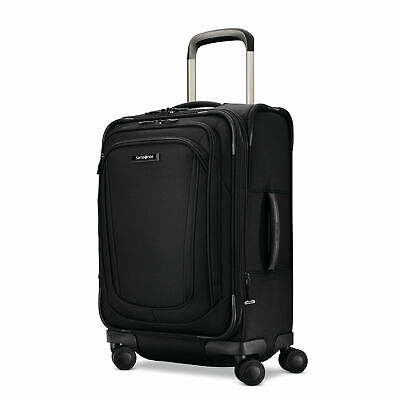 "Samsonite Silhouette 16 Expandable 22"" Carry-On Spinner Luggage - Black"