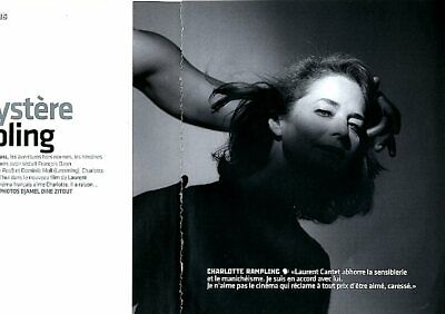 Coupure de presse Clipping 2006 Charlotte Rampling  (4 pages)