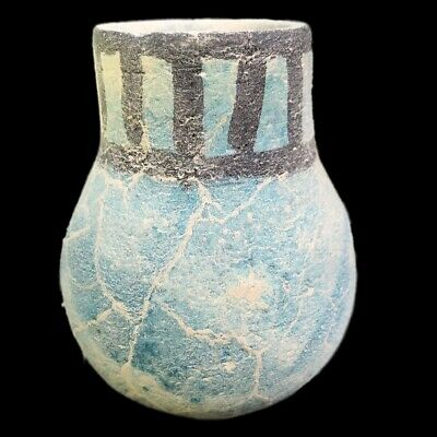 Very Rare Large Ancient Egyptian Storage Jar Vessel Late Period 664 - 332 Bc (5)