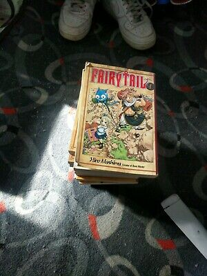 Fairy tail manga 14 book bundle