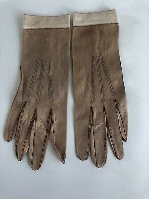 Vintage Fine Leather Gloves