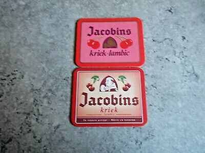 Lot De 2 Sous-Bocks - Biere - [ Jacobins ] - Bier - Bierviltje