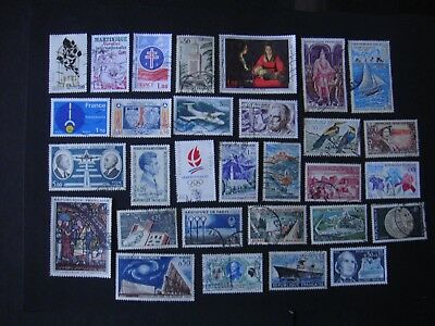 SUPER   LOT    TIMBRES    OBLITÉRÉS    de   FRANCE