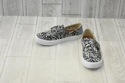 4efca94e77bf6 TOMS WOMENS ALTAIR Slip-On Black Dotted Wool/Suede Sneaker 7 B (M ...