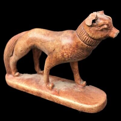 Ancient Egyptian  Statue, Late Period 664 - 332 Bc (7)