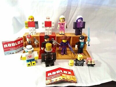 G) LOT ROBLOX Action Figures Weapons Accessories, Pre owned - $11 99