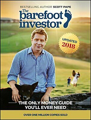 NEW The Barefoot Investor 2018 Update  By Scott Paperback Free Shipping!