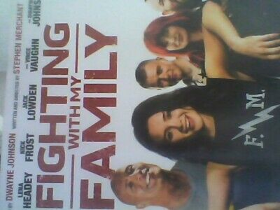 Fighting With My Family [DVD] new sealed with slip case free post
