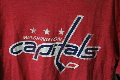 online retailer c55c1 c06da WASHINGTON CAPITALS MEDIUM Blue Screaming Eagle CCM Replica ...