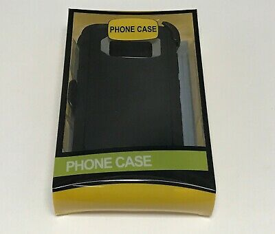 For Samsung Galaxy S8/S8 Plus Case (Belt Clip Fits Otterbox Defender)Black&Gray
