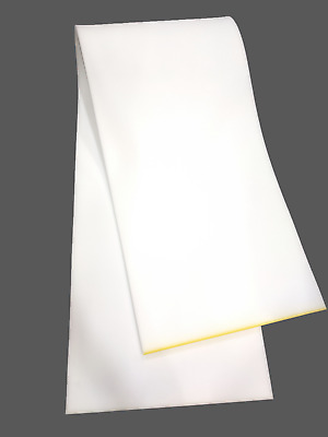 """1/2"""" Thick x 24"""" Wide x 72"""" Long Foam Sheet for Cushions, Upholstery, Crafts"""