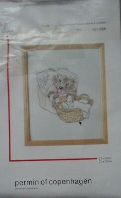 Permin Beatrix Potter 9 serveral X-stitch kits and a bonus NIP