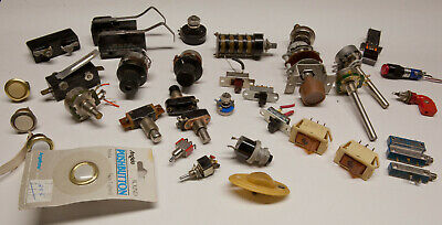 Vintage Potentiometers and Switches (lot)